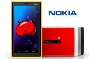 Nokia se poate intoarce pe piata smartphone cu telefoane si tablete Android