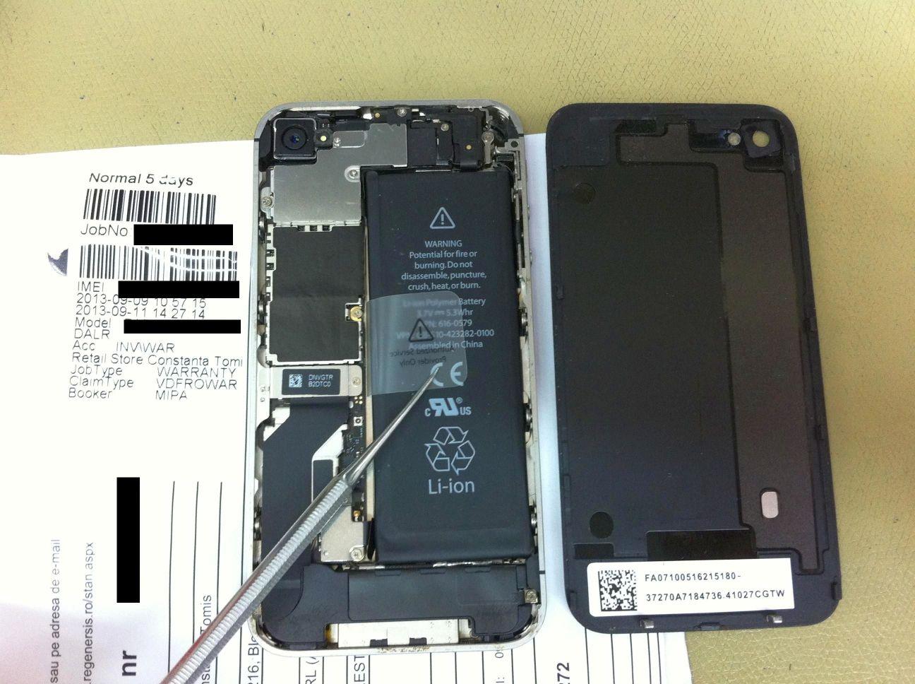 De ce nu isi repara oamenii telefonul pe garantie?