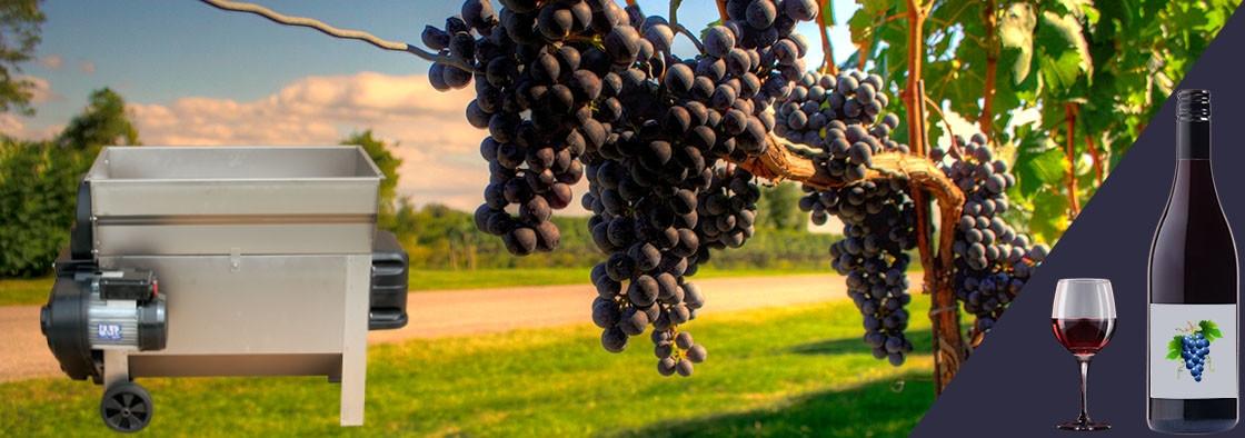 De ce ai nevoie de un desciorchinator struguri pentru a produce vin de calitate